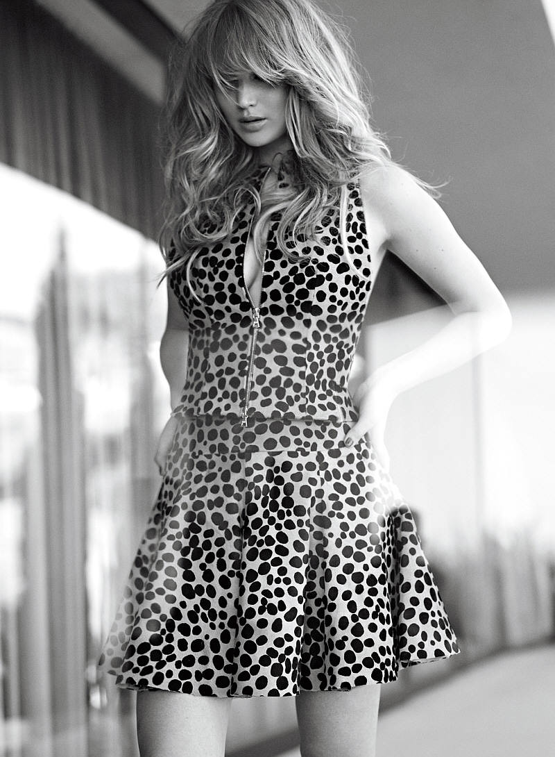 Jennifer Lawrence az Elle Magazine-ban